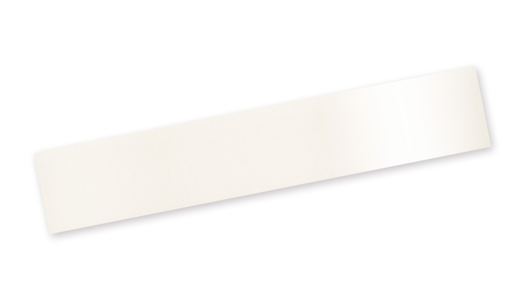 Bordo Plastica ABS - Bianco Lucido High-gloss